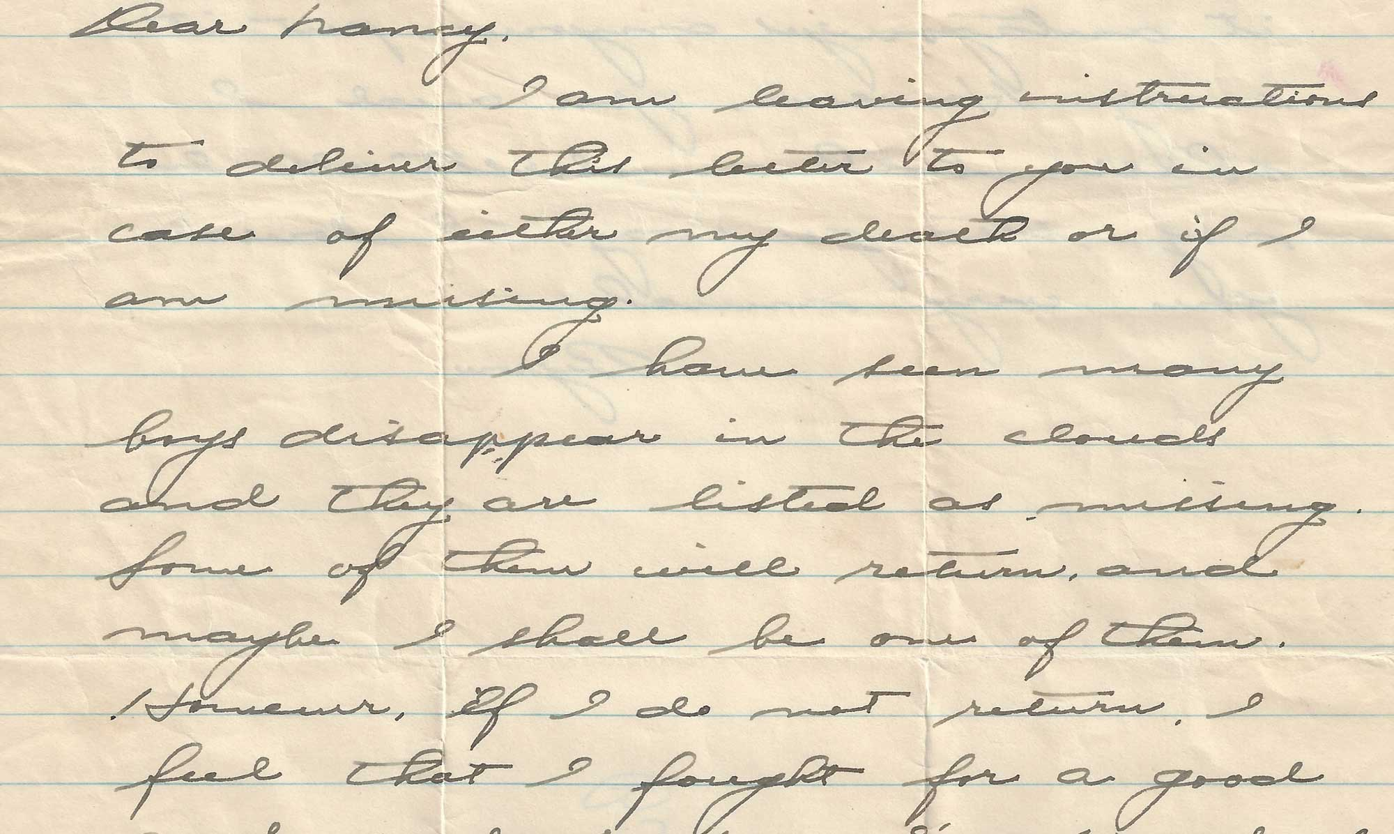 Bryan's Letter